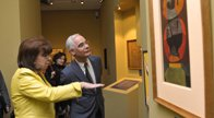 Minister Balog opens anniversary exhibition of painter Endre Bálint
