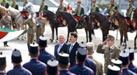 Inauguration of military officers at Heros' Square
