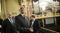 Renovated Liszt Academy of Music introduced to the press