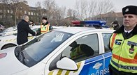 Police receive new patrol cars