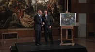Ministry of Foreign Affairs hands over painting to the Hungarian National Gallery